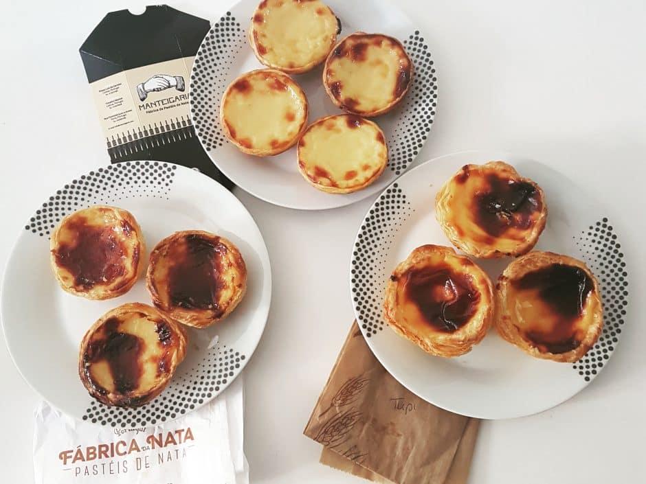 pasteis de natats in portugal