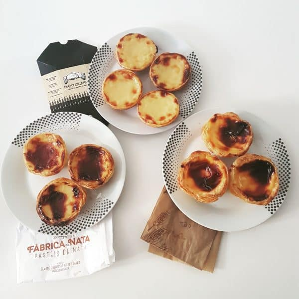 pasteis de natats in portugal