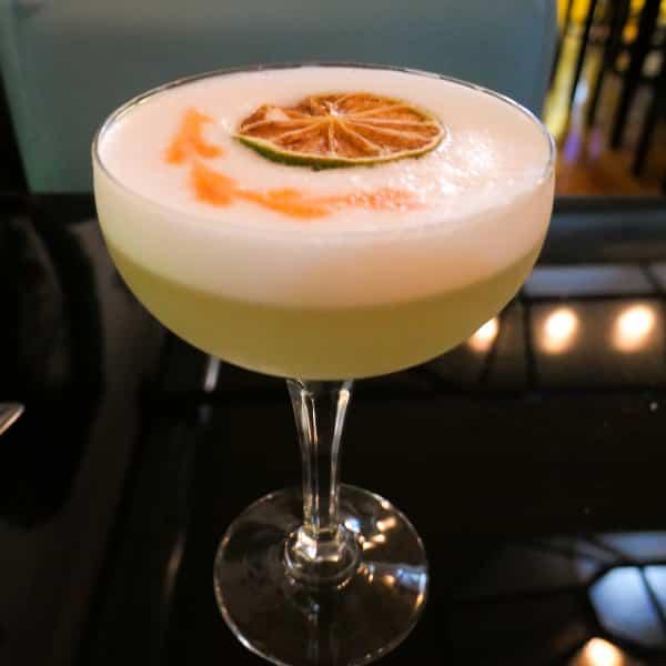 Cocktails at Mundo Restaurant, Porto